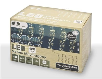Perdea de lumini LED Dekortrend - image kdf_001_small on https://e-sarbatoare.ro